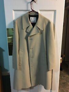 Vintage London Fog Maincoat Trench Coat 42 Regular Ebay