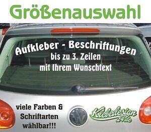 3-Zeilen-Aufkleber-Beschriftung-Groessenauswahl-Sticker-Heckscheibe-LKW-Auto-KfZ