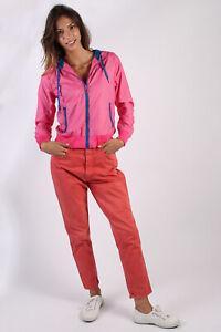 Puma-Sportlifestyle-Vintage-Estilo-Retro-Traje-Chandal-Chaqueta-Superior-Rosa-S-SW1589