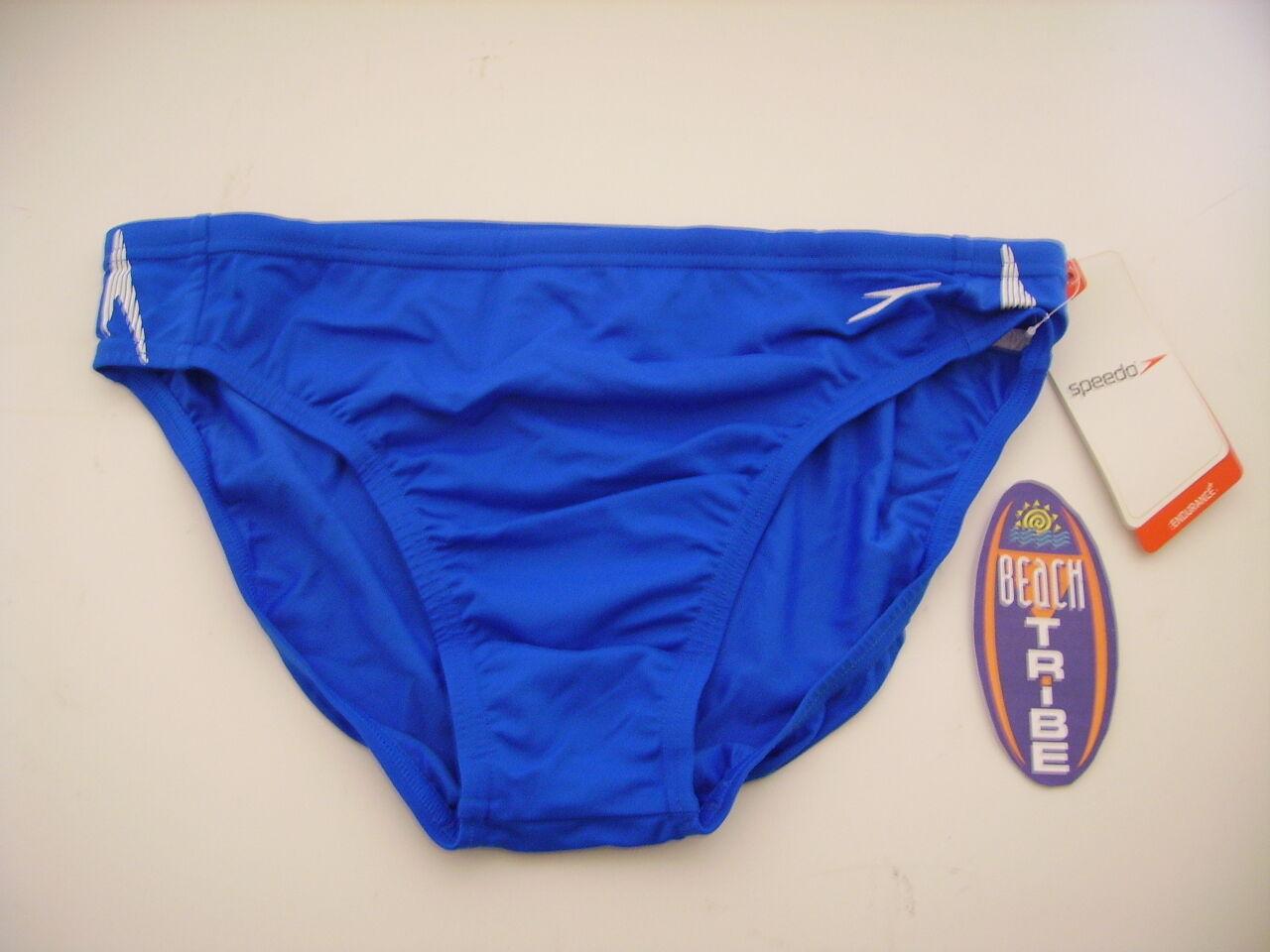 SPEEDO COSTUME SLIP SWIMSUIT POOLS 056206357 ENDURANCE AZZURRO blue TURCHESE 56
