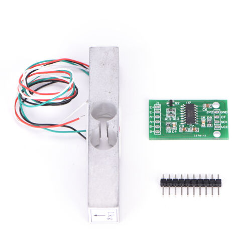 Load Cell Weight Sensor 1KG Portable Scale+HX711 Weighing Sensors Ad Module dd