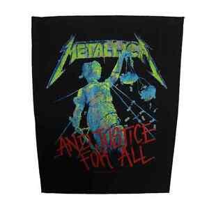METALLICA-Official-Backpatch-And-Justicia-For-All-Parche-de-Espalda-U-S
