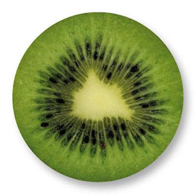 Magnet Aimant Frigo Ø38mm Kiwi Fruit Vegetal Vitamine Graine Botanique Arbre