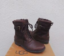 a645e485ca7 UGG Cecile Chestnut Leather Sheepskin Waterproof Duck BOOTS US 7 ...