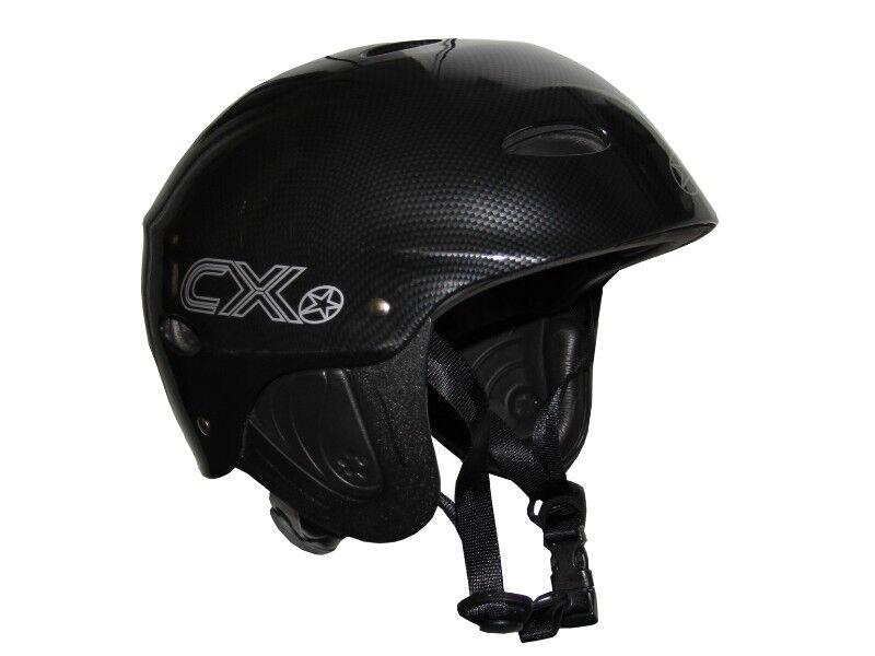 Concept X Wassersport Schutz Helm Kite Surf Segeln Wakeborden Größe M Carbon
