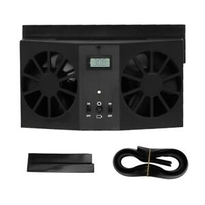 Portable Mini Car Solar Fan Automobile Air Vent Ventilator ...