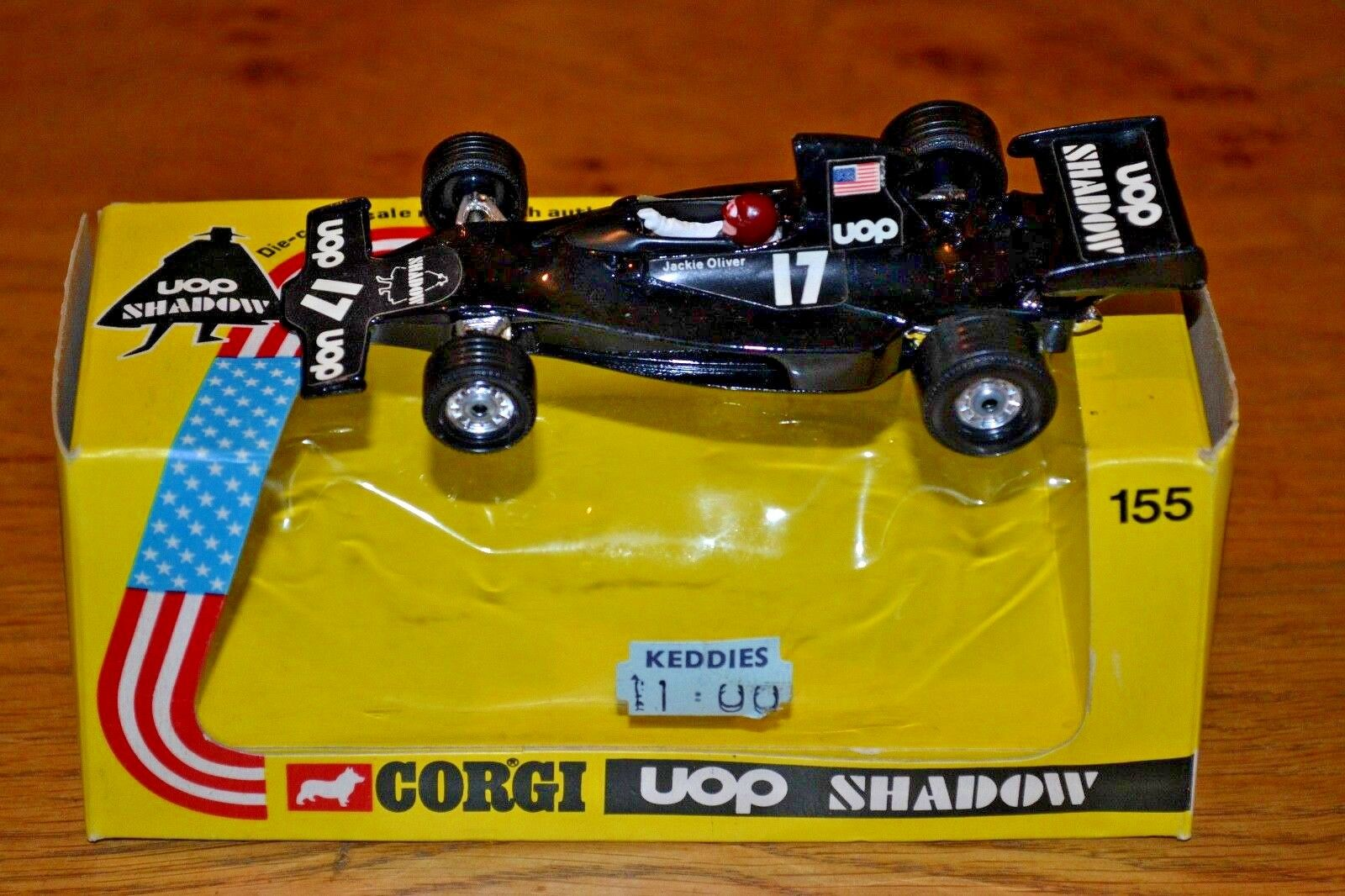 Vintage Corgi Shadow Ford Formula 1 Car; Near Mint Condition; Original Box
