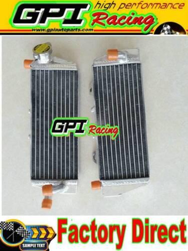 Aluminum radiator FOR KTM 125//150 SX// EXC 250//350 SX-F 2016-2017 16 17