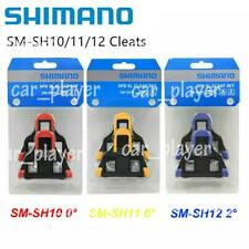Shimano SM-SH10//11//12 Cleat Set 0//2//6° Float SPD-SL Road Bike Pedal Cleats US