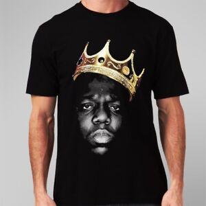 La imagen se está cargando El-Notorious-Big-Biggie-Smalls-para-hombre- Camiseta- 1c4e2b3521f