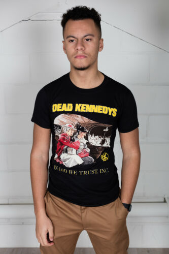 Official Dead Kennedys In God We Trust Unisex T-Shirt Fresh Fruit Brick Cambodia