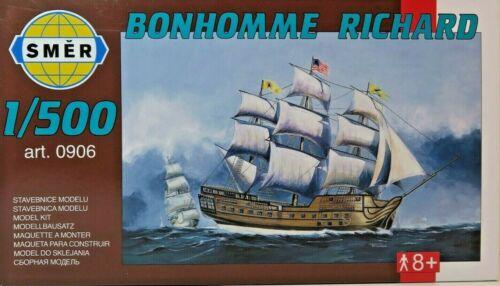 SMER 0906,Fregatte Bonhomme Richard der Continental Navy Bausatz 1:500,OVP,NEU