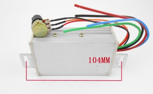 Max 20A 9-60V PWM DC Motor Stepless Variable Speed Controller Switch M