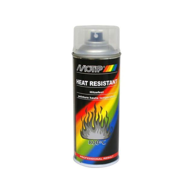 Motip Hitzefest bis 800°C Klarlack Spray 400ml 04033 Motor Hitzebeständig Lack +