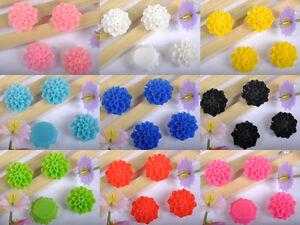 frss-envio-50-100-unidades-Resina-Flor-Dorso-plano-Cabujones-9-colores-ELIGE