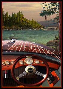 Chris Craft Vintage Poster