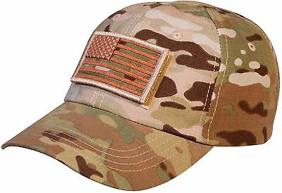 MultiCam Special Forces Operator Tactical Cap Hat with Patch