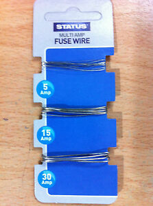 multi amp fuse wire 5 amp 15 amp 30 amp new image is loading multi amp fuse wire 5 amp 15 amp
