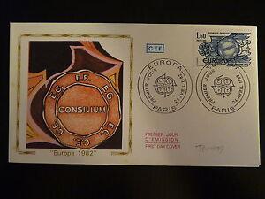 France Premier Jour Fdc Yvert 2207 Traite De Rome 1,60f Paris 1982