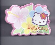 Sanrio Hello Kitty Sticky Notes Hawaii 30 Sheets Die Cut Hawaii Flower