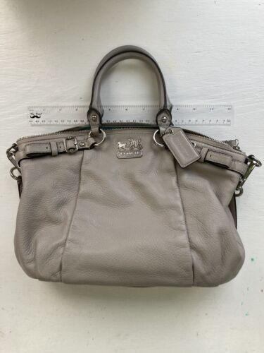 Coach Taupe Handbag