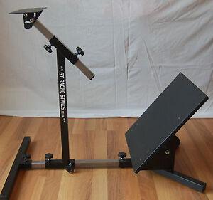 steering wheel stand for logitech g27 g29 thrustmaster fanatec ebay. Black Bedroom Furniture Sets. Home Design Ideas