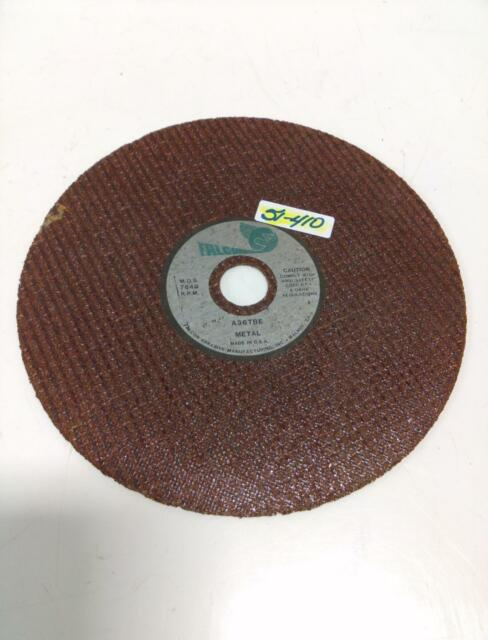 2 Diameter x 1//2 Thickness Pack of 5 36 Grit Aluminum Oxide Type 1 Falcon A36TBE Extra Tough Resinoid Bonded Double Reinforced Grinding and Snagging Abrasive Cut-off Wheel 1//4 Hub