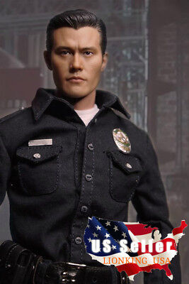 1//6 Lee Byung-Hun Terminator T1000 Head Sculpt For Hot Toys Figure SHIP FROM USA