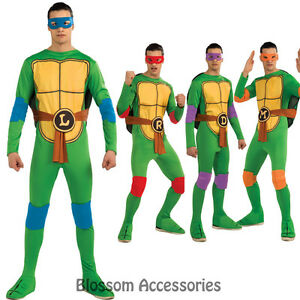 C890 Teenage Mutant Ninja Turtles Tmnt Donatello Michelangelo Etc Adult Costume Ebay