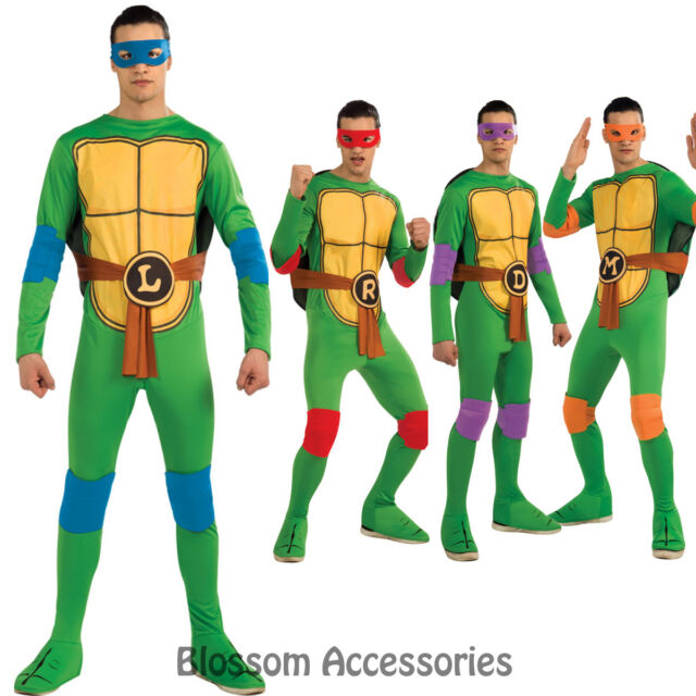 C890 Teenage Mutant Ninja Turtles TMNT Donatello Michelangelo etc Adult Costume