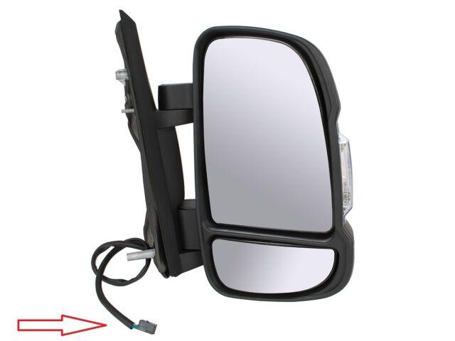 Rétroviseur Miroir à électrique DROIT POUR PEUGEOT BOXER 2014- SHORT CHAUFFANT