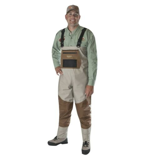 Caddis Wading Systems Ca12901W-S Mens Deluxe Breathable Stockingfoot Waders