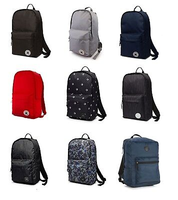 CONVERSE CHUCK TAYLOR ALL STAR BACKPACK RUCKSACK SCHOOL BAG ASSORTED COLOURS | eBay