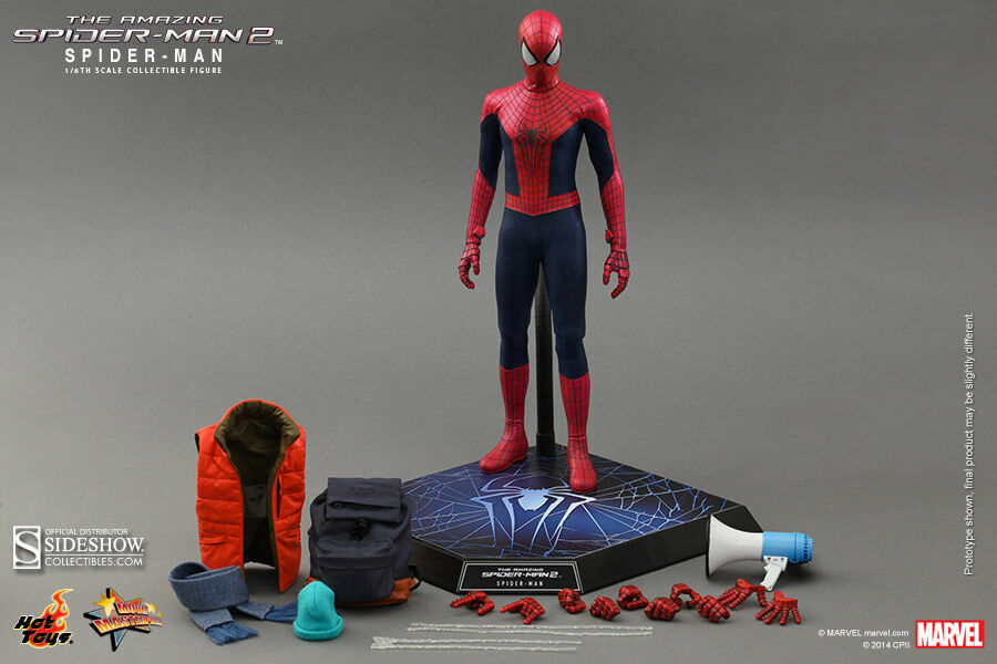 Hot Toys The Amazing Spider Man 2 1 6 figure