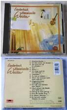 KONSTANTIN WECKER Liederbuch .. 1988 Polydor CD TOP