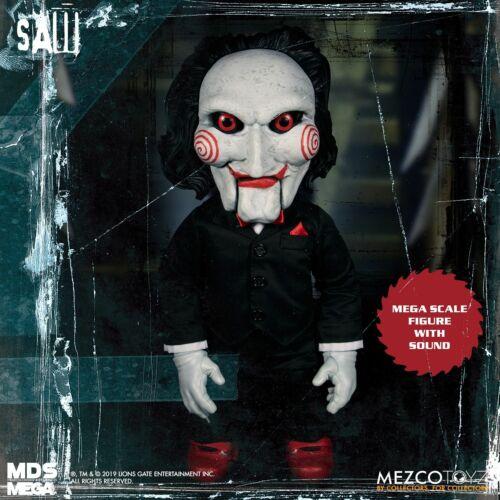 Série Mezco Designer MDS Mega échelle vu parler Billy Doll Figure en stock