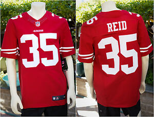 7832e891743 NEW Genuine  295 Eric Reid 35 San Francisco 49ers Elite Away Jersey ...