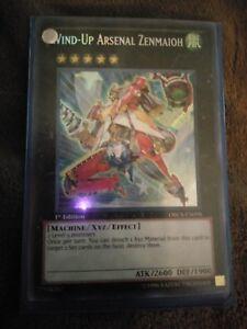 1 Wind-Up Arsenal Zenmaioh 1st Edition Near YuGiOh ORCS-EN098 Secret Rare