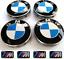 Tapones-De-Centro-De-Rueda-BMW-4X-4x-M-stickersemblem-encaja-mas-1-3-5-7-serie-68mm miniatura 1