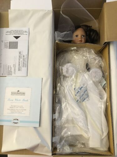 Snow White Bride Disney Ashton Drake Ltd Ed Doll MIB NRFB