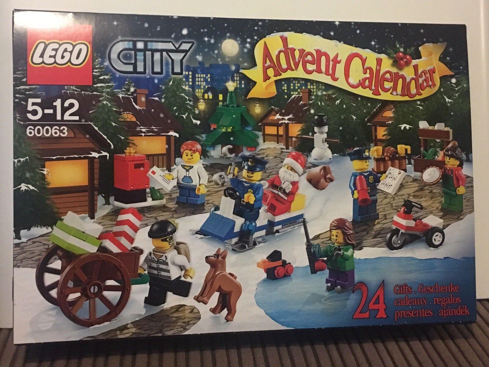 LEGO 60063 Advent Calendar 2014 Entièrement neuf dans sa boîte