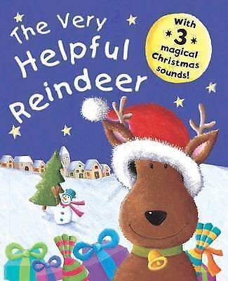 """1 of 1 - """"VERY GOOD"""" The Very Helpful Reindeer, , Book"""