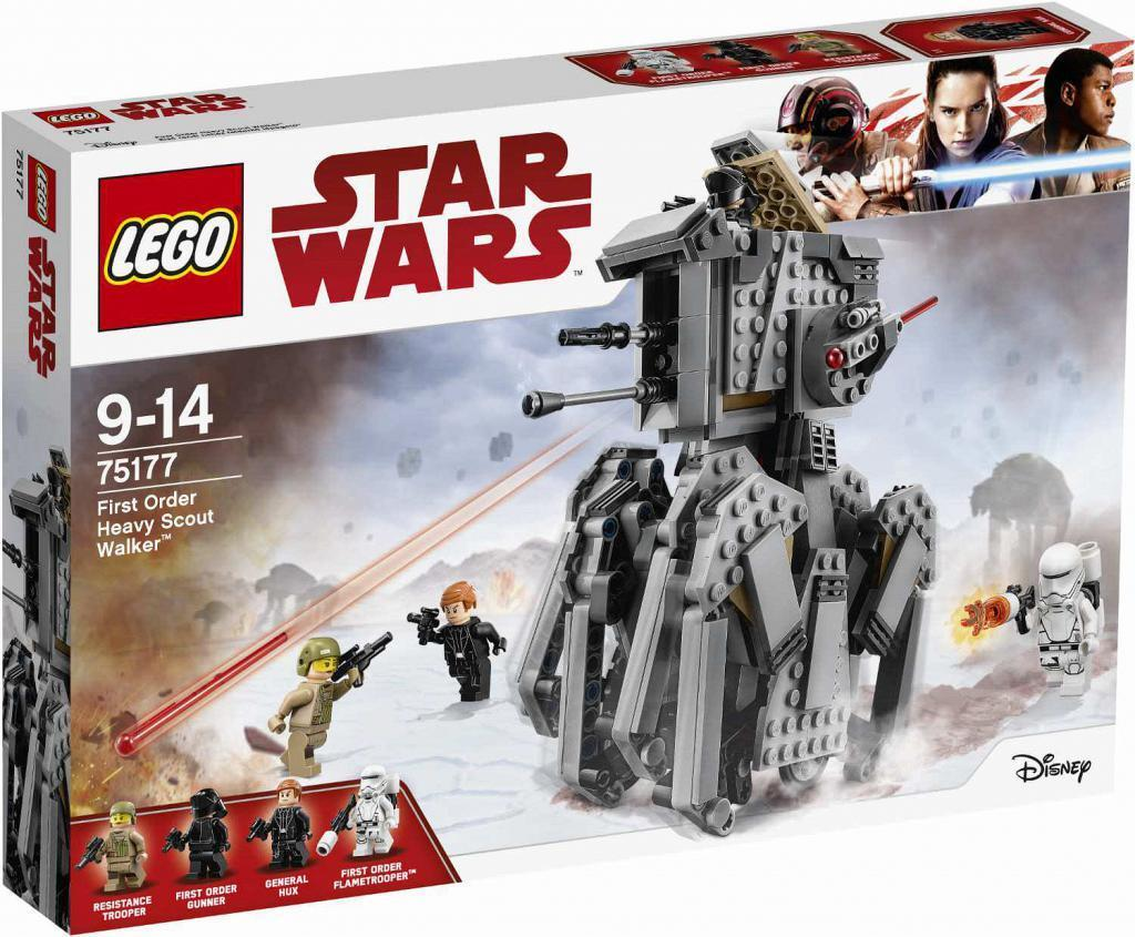 LEGO Star Wars 75177. First Order Heavy Scout Walker. De 9 a 14 años