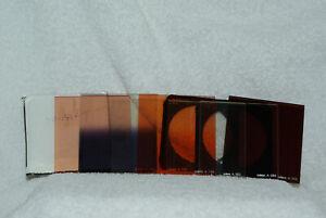 Boite Cokin + 11 filtres divers