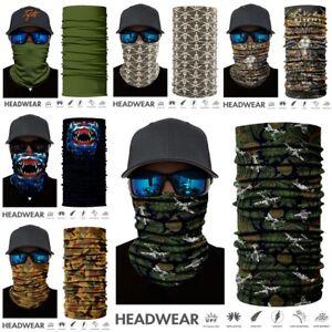 3D Outdoor Wind Tree Camo Face Mask Sun Mask Neck Headband Balaclava Du Rag