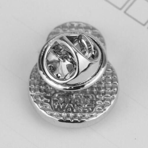 STAR WARS BB8 Logo Metal Pin brooch prop badge darth vader cosplay rogue one