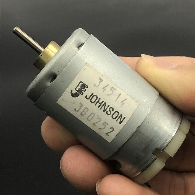 JOHNSON DC 6V-12V Reverse Axis Mini 130 Motor For Car Door Lock Rearview Mirror