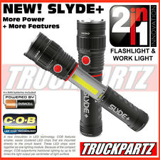 Nebo Slyde+  Plus New! 300 Lumen LED Flashlight/Worklight - Mag Base - Inc Batt