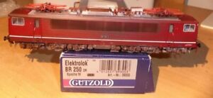 Gutzold-39300-h0-Elektrolok-Br-250-182-3-DR-epoque-4-avec-DSS-DEL-vieilli-dans-neuf-dans-sa-boite