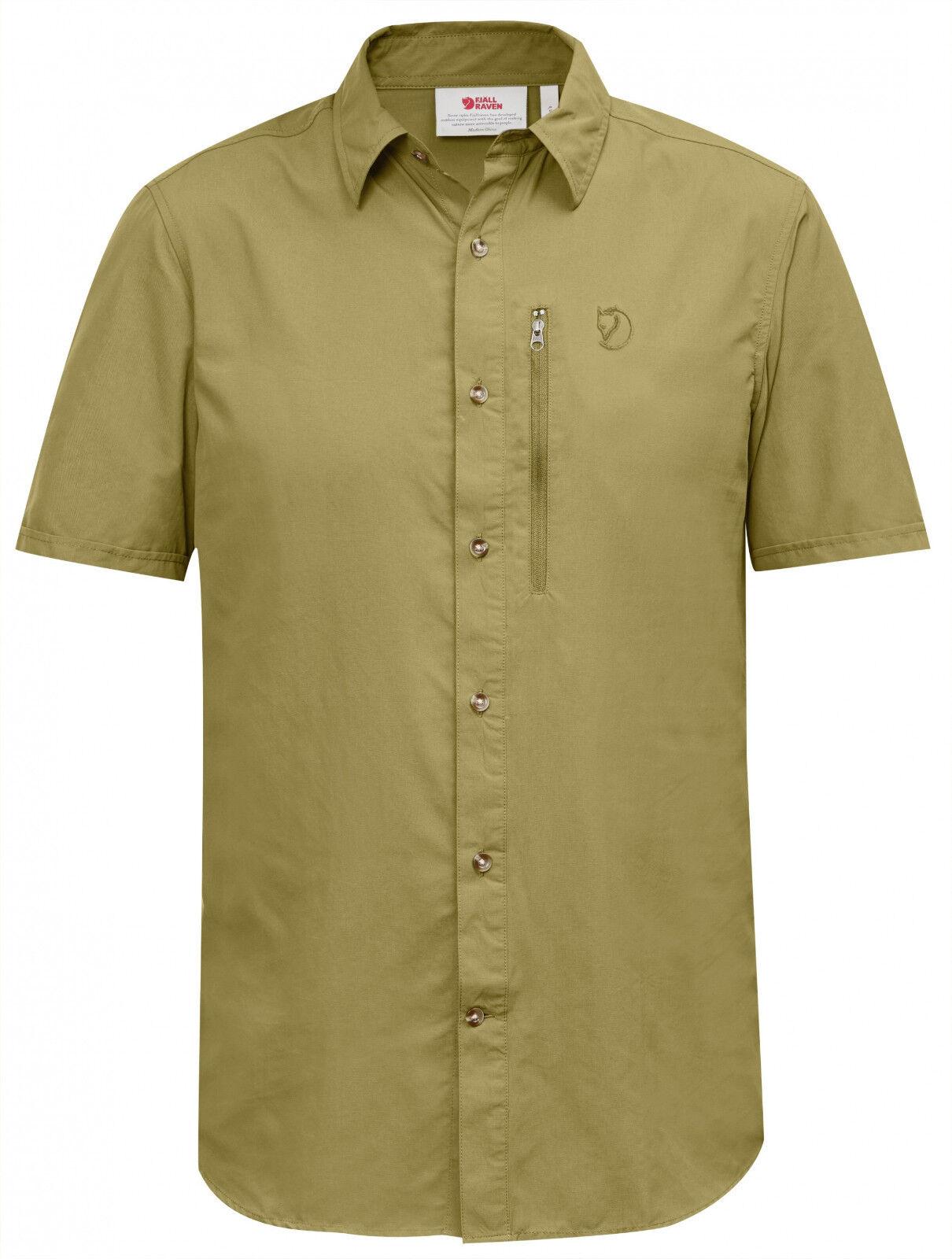 Fjallraven Abisko Hike Shirt SS - Willow